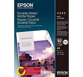 Epson papír Double-Sided Matte, 178g/m, A4, 50ks