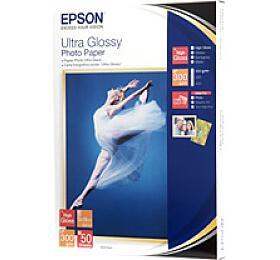 Epson papír Ultra Glossy Photo, 300g/m, 13x18, 50ks