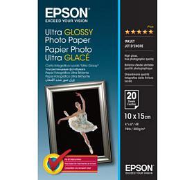 Epson papír Ultra Glossy Photo, 300g/m, 10x15, 50ks