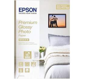 Epson papír Premium Glossy Photo, 255g/m, A4, 15ks