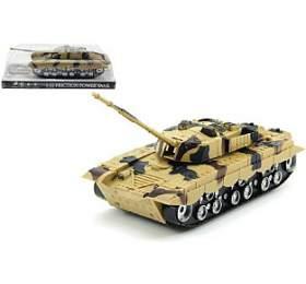 Tank plast 27cm nasetrvačník nabaterie sesvětlem sezvukem vkrabičce