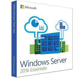 HPE MSWindows Server 2016 Essentials Edition 1-2P Reseller Option Kit CZ