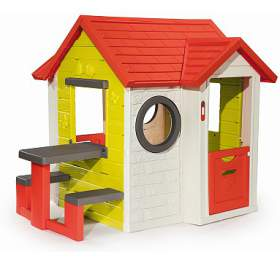 Domeček MyHouse spiknikovým stolem