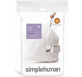 Simplehuman typ H, zatahovací, 20 ks v balení