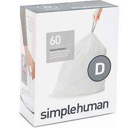 Simplehuman typ D,zatahovací, 3x 20ks CP