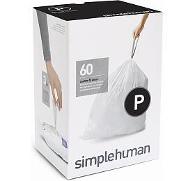 Simplehuman typ P zatahovací, 3 x 20 ks