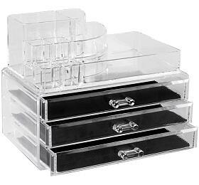 Compactor –3 zásuvky, horní úložný prostor, čirý plast