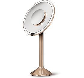 Simplehuman Sensor PRO tru-lux LED, 5/10x zvětšení, aku, WiFi ROSE GOLD ST3011