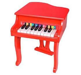 Piánko/Klavír dřevo 33x41x37cm vkrabici 47x37x7cm