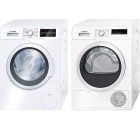 SET Pračka Bosch WAT28460BY + Sušička Bosch WTH85200BY kondenzační