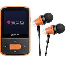 ECG PMP 30 8GB, černo/oranžový