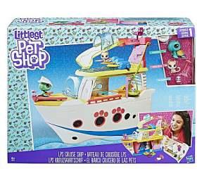 LPS Hrací set -výletní loď se3 zvířátky