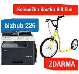 Minolta Bizhub 226 + Koloběžka Kostka Hill Fun