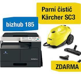 Minolta Bizhub 185 + Kärcher SC3 parní čistič