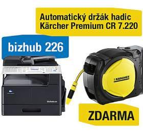 Minolta Bizhub 226 + Kärcher Premium CR 7.220 Automatický držák hadic