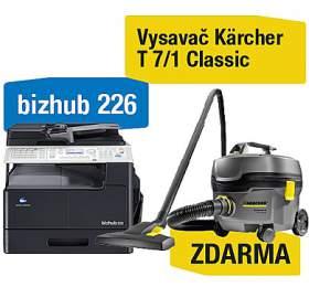 Minolta Bizhub 226 + Kärcher vysavač T 7/1 Classic