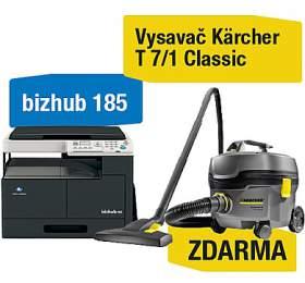 Minolta Bizhub 185 + Kärcher vysavač T 7/1 Classic