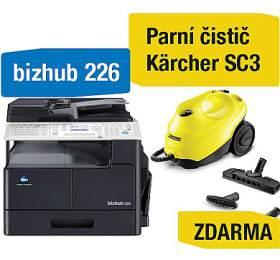 Minolta Bizhub 226 + Kärcher SC3 parní čistič