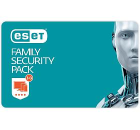 ESET Family Security Pack - lic., na 1 rok - Krabice