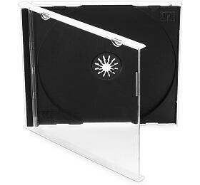 COVER ITbox jewel +tray/ plastový obal naCD/ 10,4mm/ černý