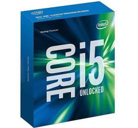 INTEL Core i5-6600 / Skylake / LGA1151 / max. 3,9GHz / 4C/4T / 6MB / 65W TDP / BOX