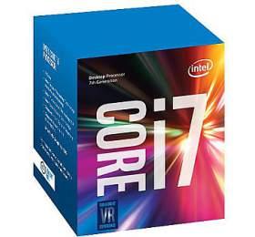 INTEL Core i7-7700 / Kaby Lake / LGA1151 / max. 4,2GHz / 4C/8T / 8MB / 65W TDP / BOX