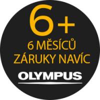 Prodloužená záruka 6 měsíců na výrobky značky Olympus