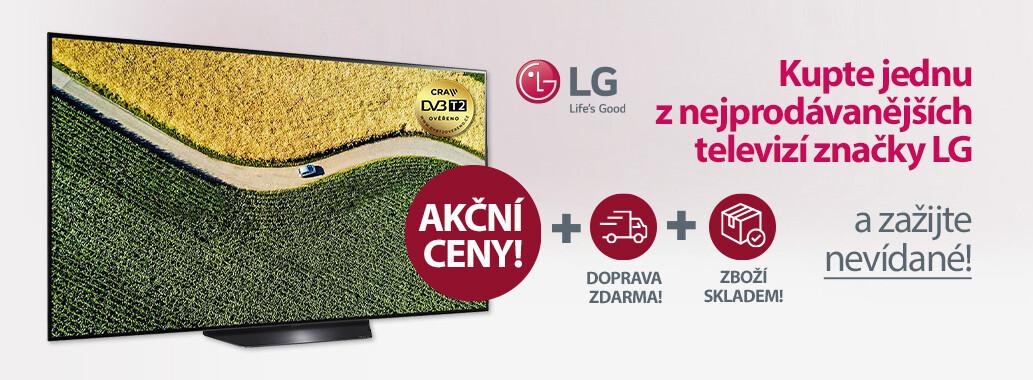 Vyberte si z nejprodávanějších modelů LG TV