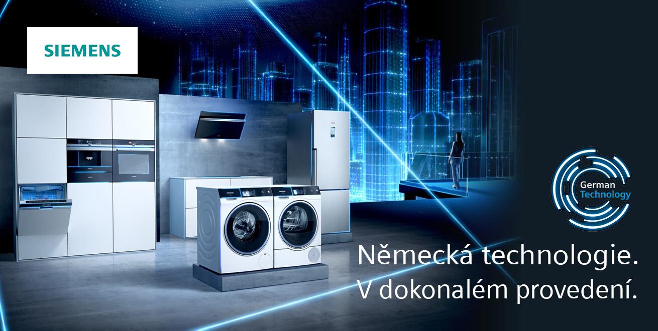 Siemens - vyrobeno v Německu
