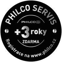 Philco – BEZPLATNÝ SERVIS +36 MĚSÍCŮ