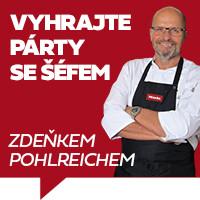 Zakupte Miele a vyhrajte párty se šéfem Zdeňkem Pohlreichem