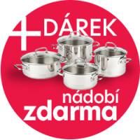 K nákupu akčního setu spotřebičů MORA získáte sadu nádobí