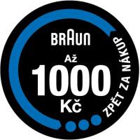 Za nákup parních generátorů Braun získejte až 1 000 Kč zpět