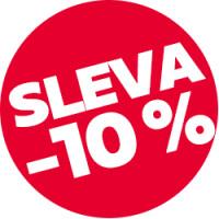 Sleva 10 % na vybrané produkty Fixed a MusicSound