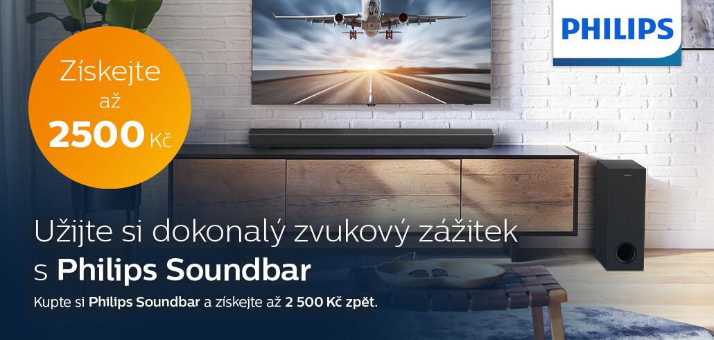 Získejte peníze zpět s Philips Soundbar