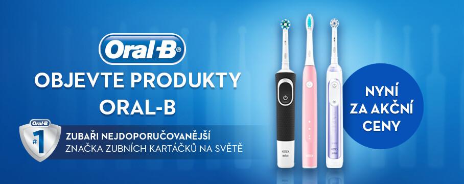 Výrobky Oral-B za akční ceny