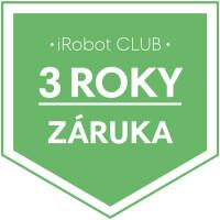 Záruka 3 roky na vysavače iRobot