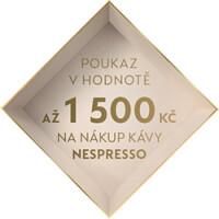K nákupu kávovaru Nespresso poukaz zdarma