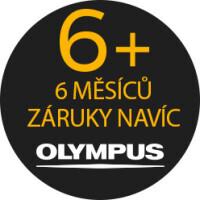 Záruka + 6 měsíců na výrobky Olympus