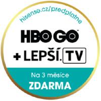 TV Hisense - HBO na 3 měsíce zdarma!