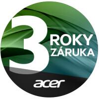 Záruka 3 roky Acer