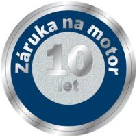 10 let záruka na motor Siemens