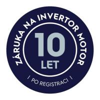 Záruka 10 let na INVERTOR motor Electrolux