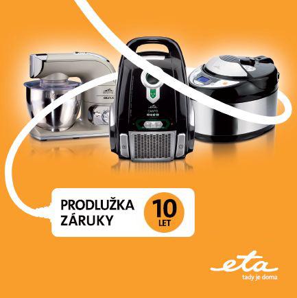 ETA prodloužená záruka 10 let