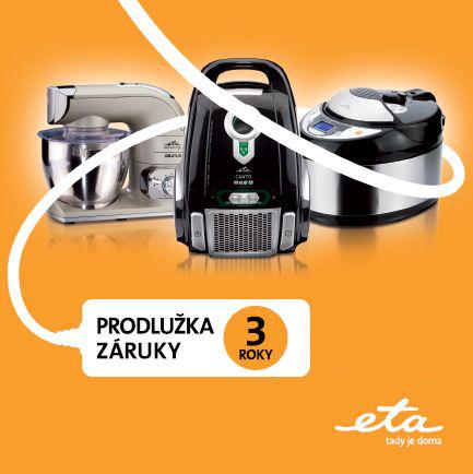 ETA prodloužená záruka 3 roky