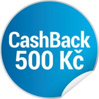 Candy CashBack - získejte zpět 500 Kč