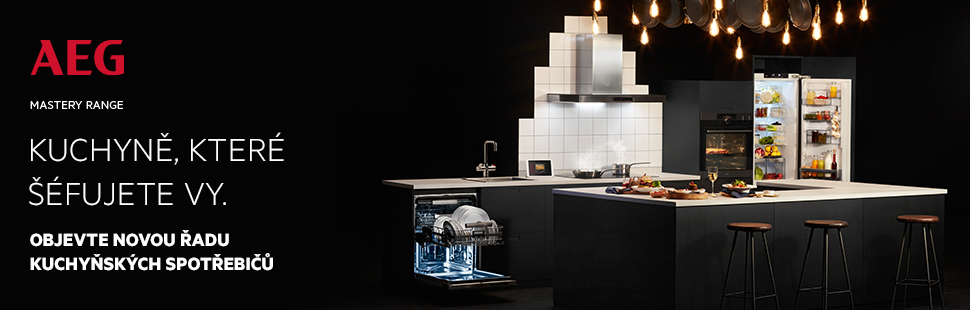 AEG Mastery - Kuchyně. které šéfujete vy