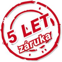 Guzzanti 5 let záruka