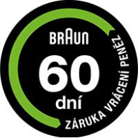 Braun 60 dní garance záruka vrácení peněz