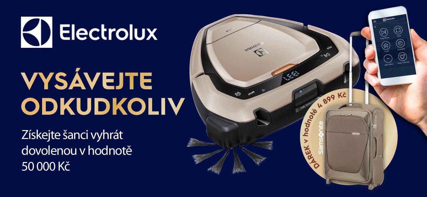 K nákupu vysavače PureI9 luxusní kufr Samsonite